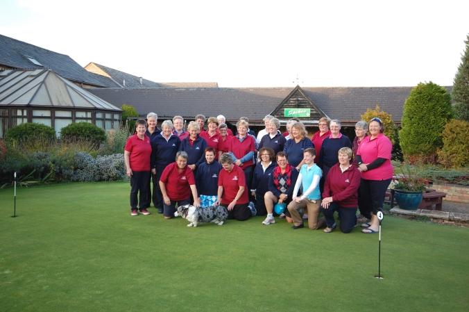 Golfing society photo at Abbotsley Golf Club
