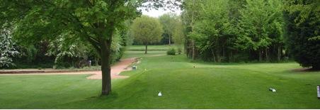 The 11th hole at Abbotsley Golf Club