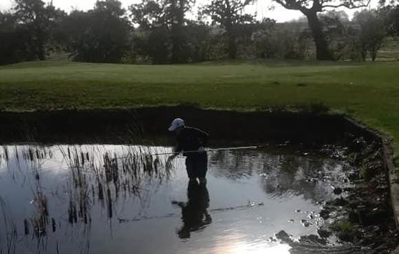 Clarkie fishing
