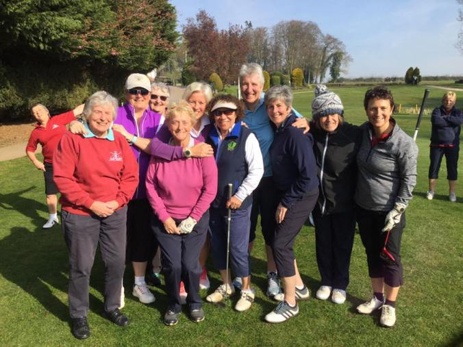 Golfers at WCAGS